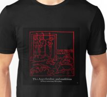 APPREHENSION OF A WITCH Unisex T-Shirt