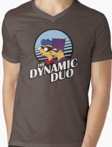 Springfield Heroes Mens V-Neck T-Shirt