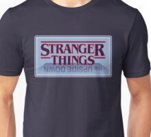 Stranger Things - Upside Down Blue Unisex T-Shirt