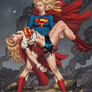 Death Of Supergirl by alrioart