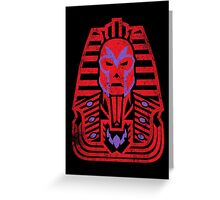 Pharaoh of Magnets Greeting Card