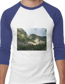 Sunny mountains Men's Baseball ¾ T-Shirt