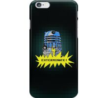 Time And Relative Pixels: Dalek iPhone Case/Skin