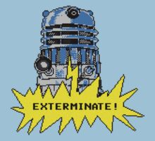 Time And Relative Pixels: Dalek Kids Tee
