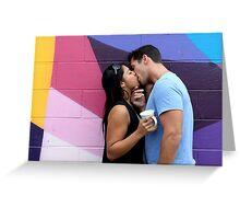 Kissing Greeting Card