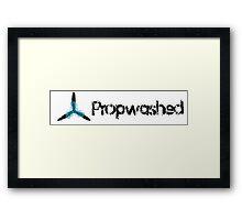 Propwashed Logo Framed Print