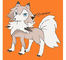 Lycanroc Midday Form Photographic Print