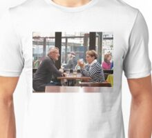 Philosophical Discussion Over a Beer in a Pub Unisex T-Shirt