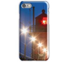 South Haven Michigan Light and Catw iPhone Case/Skin