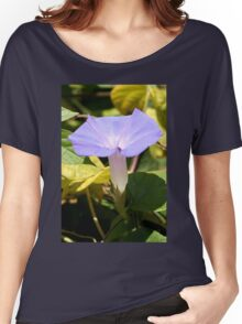 Purple Morning Glory Women's Relaxed Fit T-Shirt