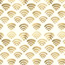 Gold Wifi Pattern by Tangerine-Tane