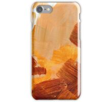 Painted Background Texture iPhone Case/Skin