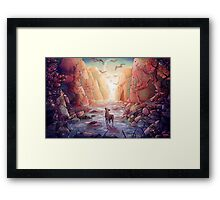 The Narrows Framed Print