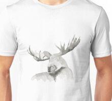 Moose Painting Unisex T-Shirt