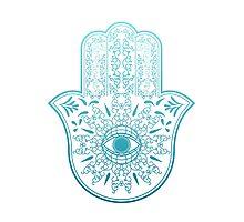 Hamsa. Hand of Fatima. Photographic Print