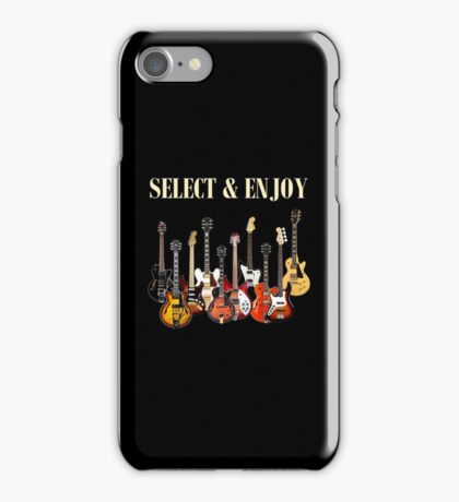 Select & play iPhone Case/Skin
