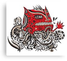 Red Monster Canvas Print