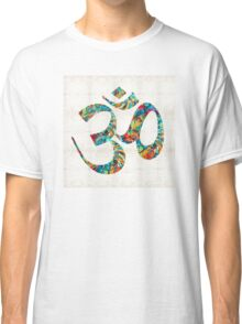 Colorful Om Symbol - Sharon Cummings Classic T-Shirt
