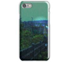 Train in Rain iPhone Case/Skin