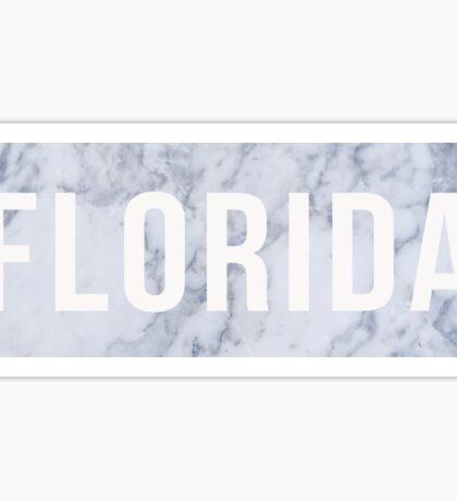 Marble Florida Sticker