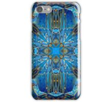 AZURE POOLS WITH SAPPHIRES iPhone Case/Skin