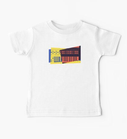 Pop Art Synth 101 Baby Tee