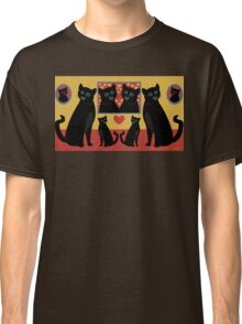 CATS AND FAMILY PICTURES Classic T-Shirt