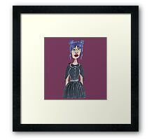 Madame Noir Framed Print