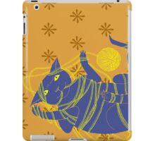 Crafty Cat Meant to do That iPad Case/Skin