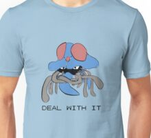 Tentacruel says Deal With It Unisex T-Shirt