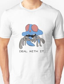 Tentacruel says Deal With It Unisex T-Shirt