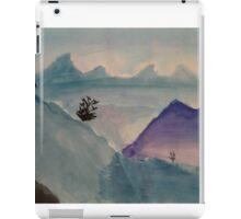 Watercolor Landscape iPad Case/Skin
