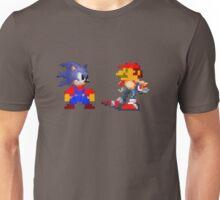 Mario Sonic Nintendo Sega Unisex T-Shirt