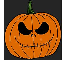 Pumpkin Jack Photographic Print