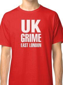 UK grime (white) Classic T-Shirt