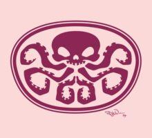 Hydra logo (girls and women) Baby Tee
