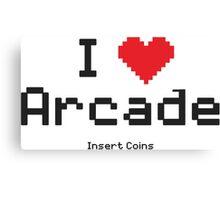 love arcade Canvas Print