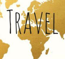 World Map - Travel Sticker