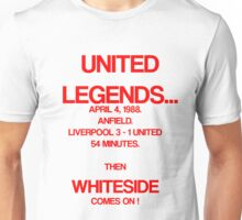 Norman Whiteside Unisex T-Shirt
