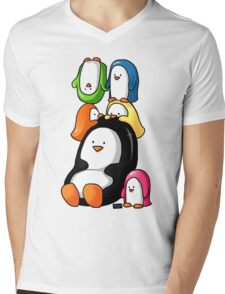 Humphrey and Friends Mens V-Neck T-Shirt