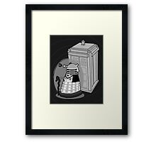 Daleks in Disguise - First Doctor Framed Print