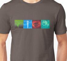 The Four Elements- Horizontal Unisex T-Shirt