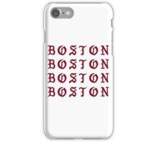 I FEEL LIKE BOSTON iPhone Case/Skin