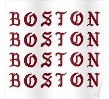 I FEEL LIKE BOSTON Poster