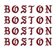 I FEEL LIKE BOSTON Photographic Print
