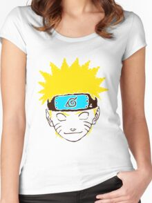 Keinage - Les Couleur | Naruto Women's Fitted Scoop T-Shirt