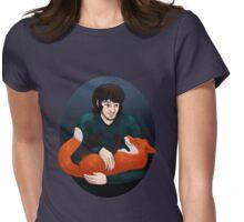 Fox friend Womens Fitted T-Shirt