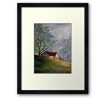 Old Folks' Home, Atlanta Road, Marietta, GA Framed Print