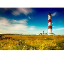 Tarbatness Lighthouse, scotland Photographic Print