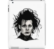 Tribute to Edward Scissorhands *RE-EDITED iPad Case/Skin